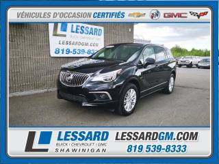 Used 2017 Buick Envision AWD Premium, CUIR, SIEGE CHAUFFANT,CAMERA DE RECUL for sale in Shawinigan, QC