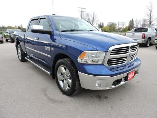 Used 2014 RAM 1500 Big Horn. Sunroof. Heated seats. Loaded for sale in Gorrie, ON