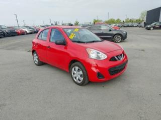 Used 2015 Nissan Micra S for sale in Saint-hubert, QC