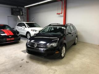 Used 2010 Volkswagen Golf Wagon COMFORTLINE, AUTO., TOIT PANORAMIQUE for sale in Montréal, QC