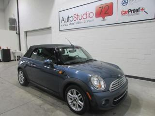 Used 2011 MINI Cooper CONVERTIBLE **AUTOMATIQUE**CUIR**MAGS** for sale in Mirabel, QC
