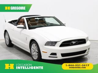 Used 2013 Ford Mustang V6 Premium for sale in St-Léonard, QC