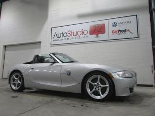 Used 2007 BMW Z4 Roadster 2 portes 3.0si **6 VIT.**CUIR** for sale in Mirabel, QC