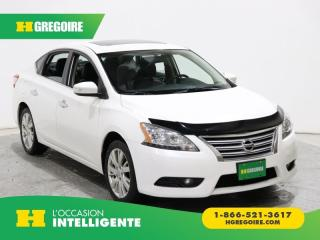 Used 2013 Nissan Sentra SL GR ELECT CUIR for sale in St-Léonard, QC