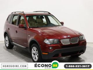 Used 2009 BMW X3 30I XDRIVE A/C GR for sale in St-Léonard, QC