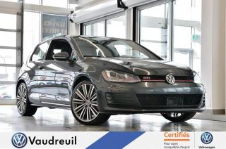 Used 2016 Volkswagen Golf GTI Performance * ENS. TECH * 19 POUCES for sale in Vaudreuil-Dorion, QC