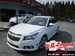 Used 2014 Chevrolet Cruze 2lt Rs T.ouvrant for sale in St-Prosper, QC