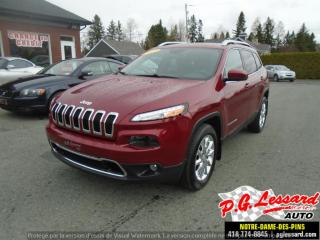 Used 2017 Jeep Cherokee Limitée for sale in St-Prosper, QC
