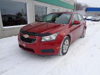 Used 2012 Chevrolet Cruze Berline LT turbo 4 portes avec 1SA for sale in St-Jérôme, QC