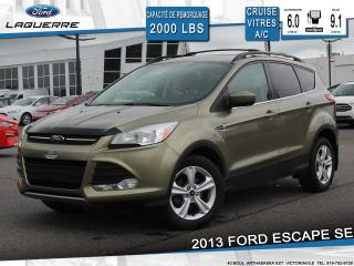 Used 2013 Ford Escape Se Bluetooth Cruise for sale in Victoriaville, QC