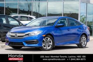 Used 2016 Honda Civic Lx Ac Cruise for sale in Lachine, QC