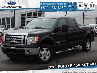 Used 2012 Ford F-150 XLT 4X4 BLUETOOTH for sale in Victoriaville, QC