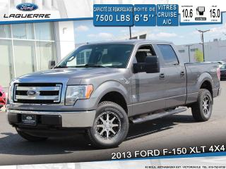 Used 2013 Ford F-150 XLT 4X4 BLUETOOTH for sale in Victoriaville, QC