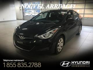 Used 2015 Hyundai Elantra GL + A/C + CRUISE + BLUETOOTH + WOW !! for sale in Drummondville, QC