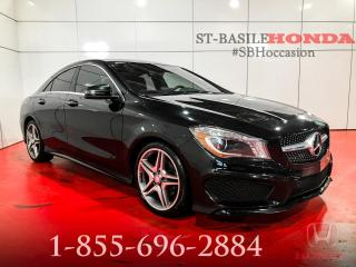 Used 2016 Mercedes-Benz CLA250 4MATIC + NAVIGATION + MAGS AMG + CAMERA for sale in St-Basile-le-Grand, QC