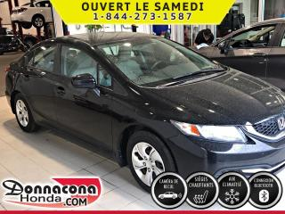 Used 2015 Honda Civic LX ***GARANTIE PROLONGÉE***SIÈGE CHAUFFA for sale in Donnacona, QC