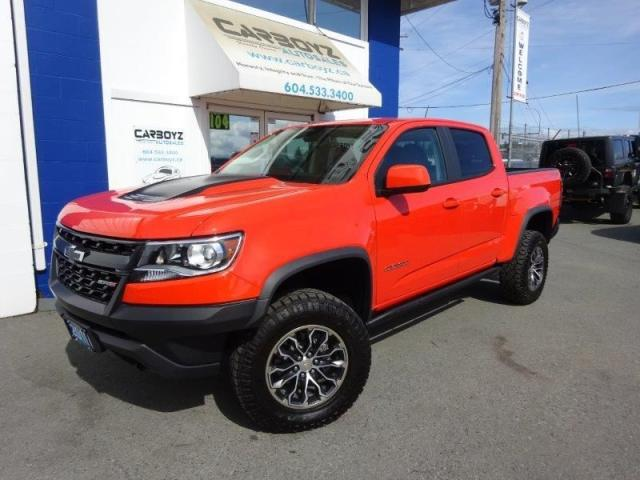 2019 Chevrolet Colorado ZR2 4x4, 4ZR, Crew, Nav, Only 1,031 Kms,