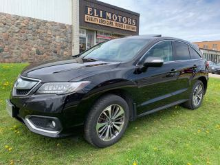 Used 2017 Acura RDX Elite Pkg.Navigation.Rear view camera.Bluetooth.Alloys. for sale in North York, ON