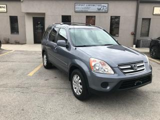 Used 2005 Honda CR-V 4WD EX-L Auto,LEATHER,SUNROOF,HEATED SEATS ! for sale in Burlington, ON