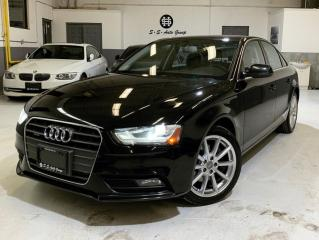 Used 2014 Audi A4 NAV|BACK SENSOR|ACCIDENT FREE|PROGRESSIV for sale in Oakville, ON