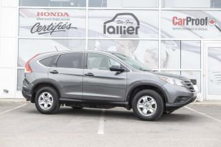 Used 2013 Honda CR-V LX AWD ***GARANTIE 10 ANS/200 000 KM*** for sale in Québec, QC