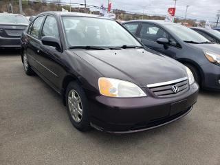 Used 2001 Honda Civic DX-G ***JAMAIS ACCIDENTÉ*** for sale in Québec, QC