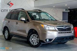 Used 2014 Subaru Forester i Limited w/Eyesight & Multimedia for sale in Toronto, ON