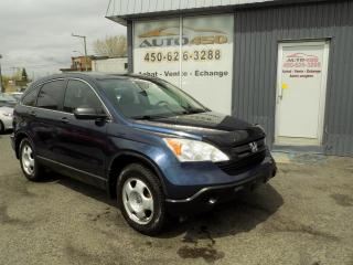 Used 2009 Honda CR-V ***AUTOMATIQUE,AIR CLIM,GROUPES ELECTRIQ for sale in Longueuil, QC