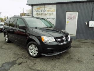 Used 2012 Dodge Grand Caravan ***SE.STOW&GO,AIR CLIM,GROUPE ELECTRQIUE for sale in Longueuil, QC
