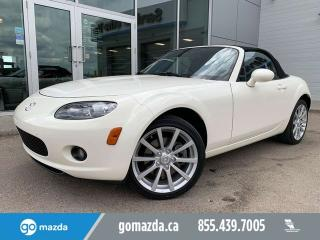 Used 2008 Mazda Miata MX-5 GT LEATHER POWER OPTIONS CONVERTIBLE LOW MILEAGE for sale in Edmonton, AB