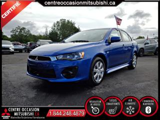 Used 2017 Mitsubishi Lancer ES + CLIM + CRUISE + SIEGES-CHAUFFANTS for sale in Blainville, QC