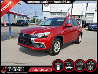 Used 2017 Mitsubishi RVR SE 4X4 CAMERA + CLIM + FOGS + BLUETOOTH for sale in Blainville, QC