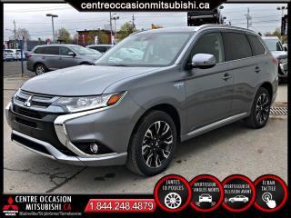 Used 2018 Mitsubishi Outlander PHEV GT OUTLANDER HYBRIDE RECHARGEABLE 4 for sale in Blainville, QC