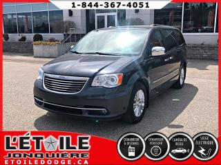 Used 2014 Chrysler Town & Country LMT SIEGES EN CUIR, CLIMATISATION DEUX Z for sale in Jonquière, QC