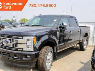 Used 2019 Ford F-350 Super Duty SRW Platinum 713A 6.7L V8 Diesel 4X4 Crew Cab, Power Heated/Cooling Leather Seats, Remote Vehicle Start, Reverse Camera System, Trailer Tow Pkg for sale in Edmonton, AB