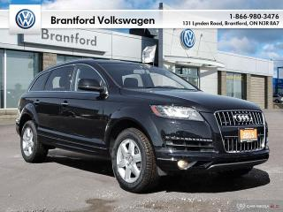 Used 2015 Audi Q7 3.0T Progressiv quattro/NEW BRAKES AND TIRES! for sale in Brantford, ON