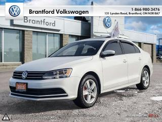 Used 2015 Volkswagen Jetta Sedan Comfortline 1.8T 5sp-PREMIUM HEATED SEATS/BLUETOOTH/REAR-CAM for sale in Brantford, ON