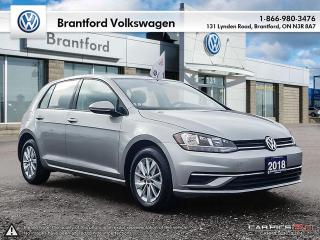 Used 2018 Volkswagen Golf 5-Dr 1.8T Trendline 6sp at w/Tip for sale in Brantford, ON