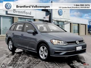 Used 2018 Volkswagen Golf Sportwagen Sportwagen 1.8T Trendline DSG 6sp at w/Tip 4MOTION for sale in Brantford, ON