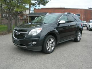 Used 2013 Chevrolet Equinox LTZ for sale in Oshawa, ON