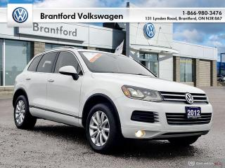 Used 2012 Volkswagen Touareg Execline 3.0 TDI 8sp at Tip 4M for sale in Brantford, ON