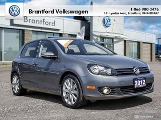 Used 2012 Volkswagen Golf 5-Dr TDI Highline at Tip for sale in Brantford, ON