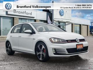 Used 2015 Volkswagen Golf GTI 5-Dr 2.0T Performance 6sp for sale in Brantford, ON