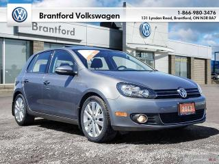 Used 2013 Volkswagen Golf 5-Dr Wolfsburg Edition 2.0 TDI 6sp for sale in Brantford, ON