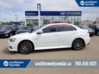 Used 2015 Mitsubishi Lancer Evolution MR/AWD/LEATHER/HEATED SEATS/SUNROOF for sale in Edmonton, AB