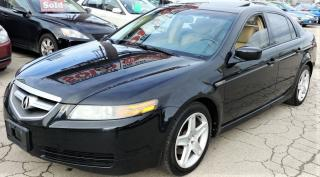 Used 2005 Acura TL W/NAVIGATION PKG for sale in Hamilton, ON