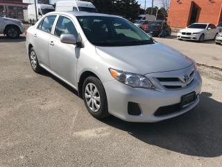 Used 2013 Toyota Corolla AUTO,S/R,H/SEATS,SAFETY+3 YEARS  WARRANTY INCLUDED for sale in Toronto, ON