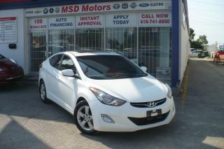 Used 2013 Hyundai Elantra GLS SUROOF,ALLOY for sale in Toronto, ON