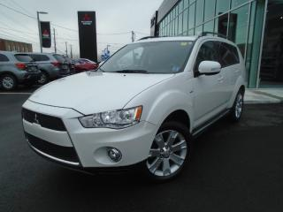 Used 2012 Mitsubishi Outlander GT XLS LEATHER SUNROOF V6 TAILGATE for sale in Halifax, NS