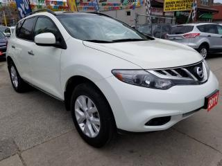 Used 2011 Nissan Murano SV-Extra Clean-Bk Up Cam-SunMoon Roof-Blluetooth for sale in Scarborough, ON